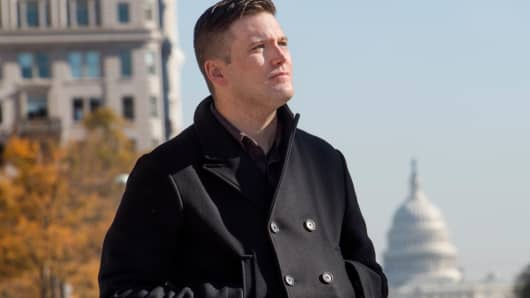 Richard Spencer in Washington, November 18, 2016.