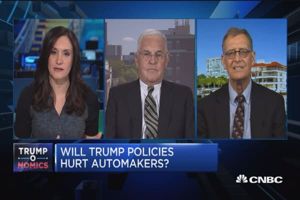 Will Trump policies hurt automakers?