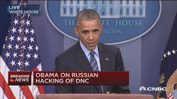 Obama: Goal was to inform, not influence the election