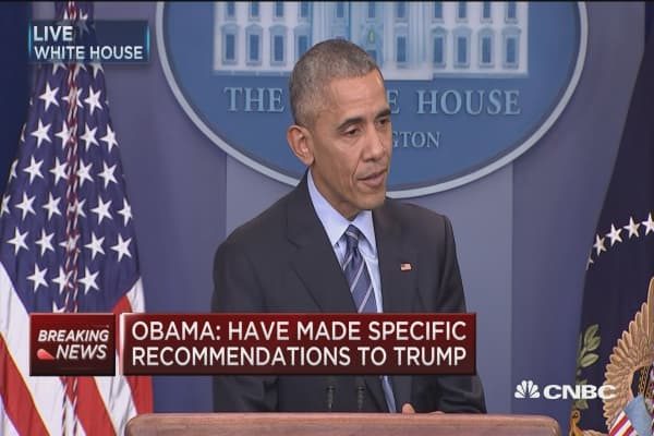Obama: FBI officials take their jobs seriously