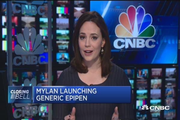 Mylan launching generic EpiPen