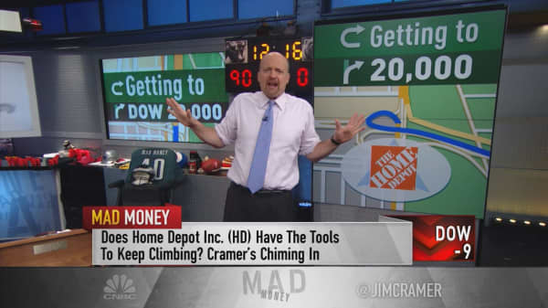 Cramer's top 7 stocks that could fuel the Dow to 20,000