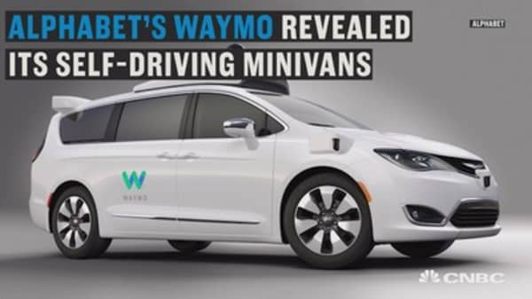 Alphabet's self-driving minivan to hit the roads in 2017