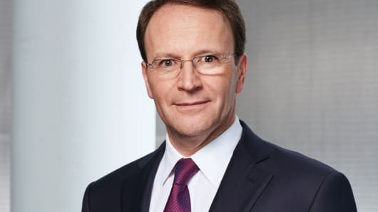 Nestle's incoming CEO Ulf Mark Schneider is starting January 1.