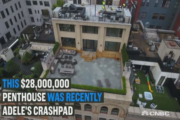 See inside Adele's $28,000,000 NYC crashpad