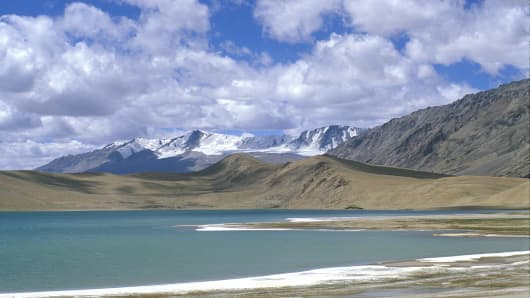 The Chang Tang plateau in Tibet, China, is known for its lithium resources.