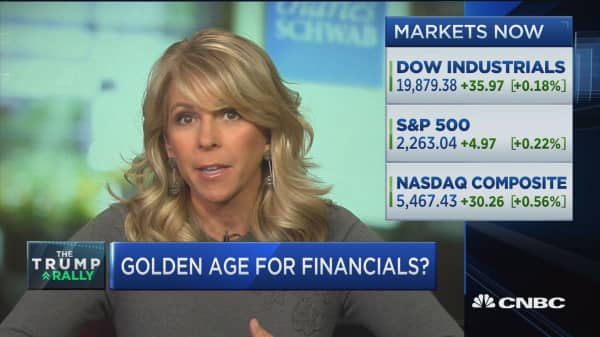 Golden age for financials?