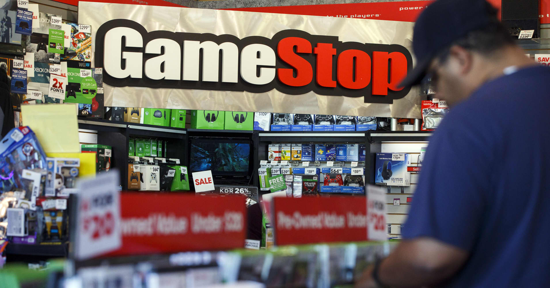 Gamestop TV ads in storesGamestop