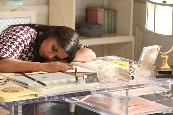 "Mindy Lahiri, fictional character on NBC's ""The Mindy Project,"" is a young professional struggling with a variety of money, work and personal problems."