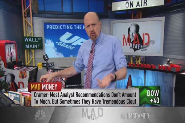 Cramer says now is the analyst 'sweet spot' for you to make a move