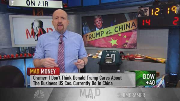 Cramer explains Trump's behavior towards China: He thinks we're already in a trade war!