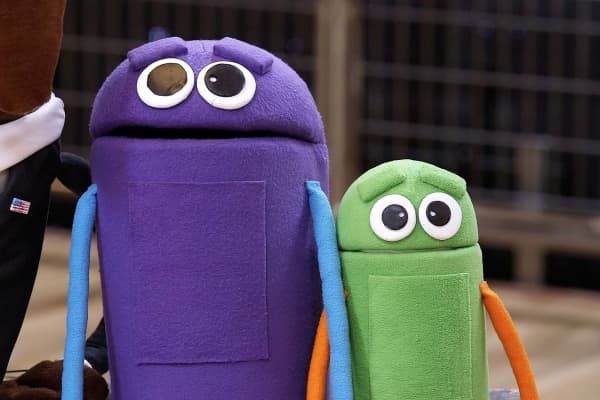 JibJab's StoryBots puppets, which is now a show on Netflix.