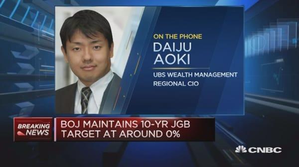 Pressure on BOJ will continue: Economist