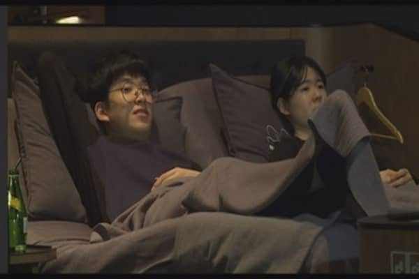 South Korea's luxury cinemas replace seats with beds