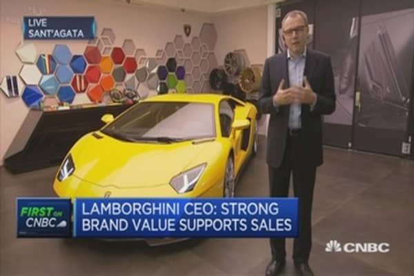 Strong brand value supports sales: Lamborghini CEO