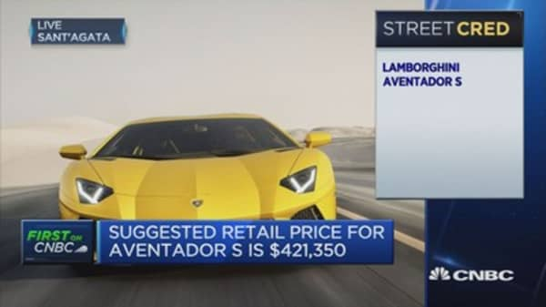 Lamborghini's in a special niche market of super sports cars: CEO