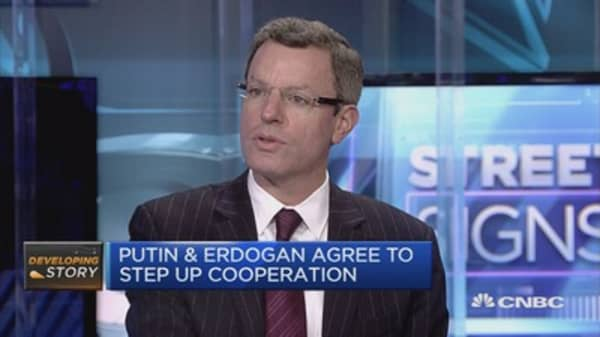 underlying pragmatism to Erdogan's moves