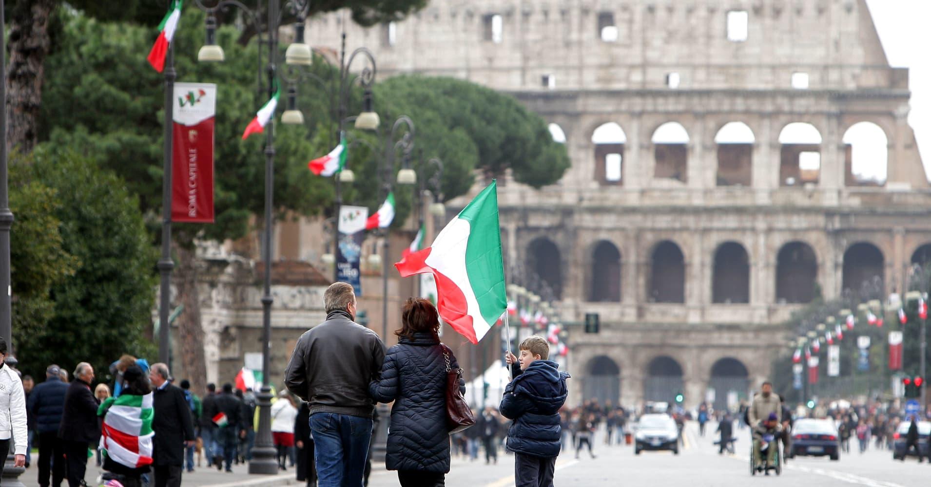 Italy's power struggle is threatening European democracy, union leader says