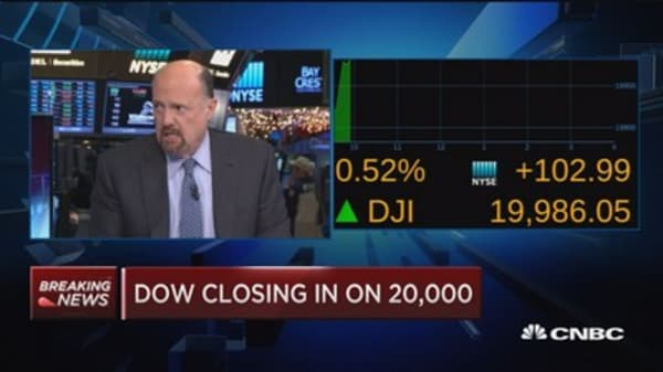 Dow 20K would bring out sellers
