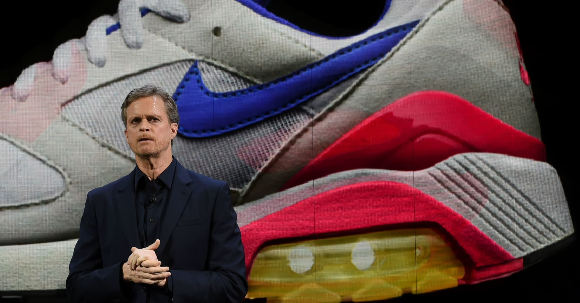 7a48dbca1 Nike tops Wall Street expectations  confirms deal with Amazon