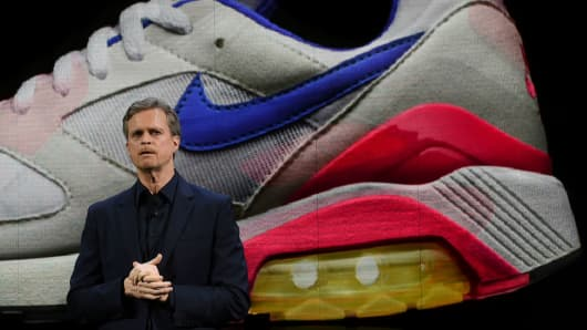 Nike president and CEO Mark Parker.