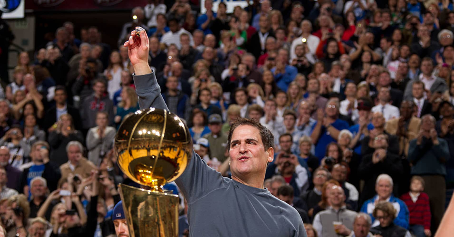 Mark Cuban on buying the Mavs: 'I did it because I love basketball'