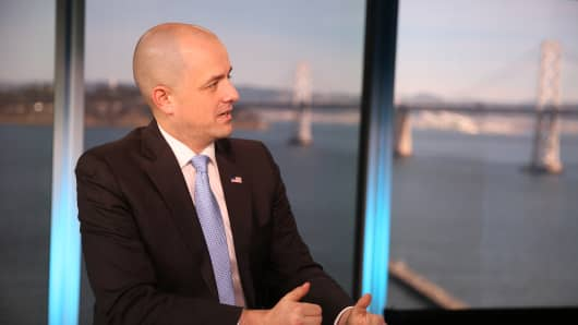 Former independent presidential candidate Evan McMullin.