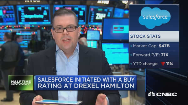 Drexel Hamilton: Salesforce has plenty of growth ahead