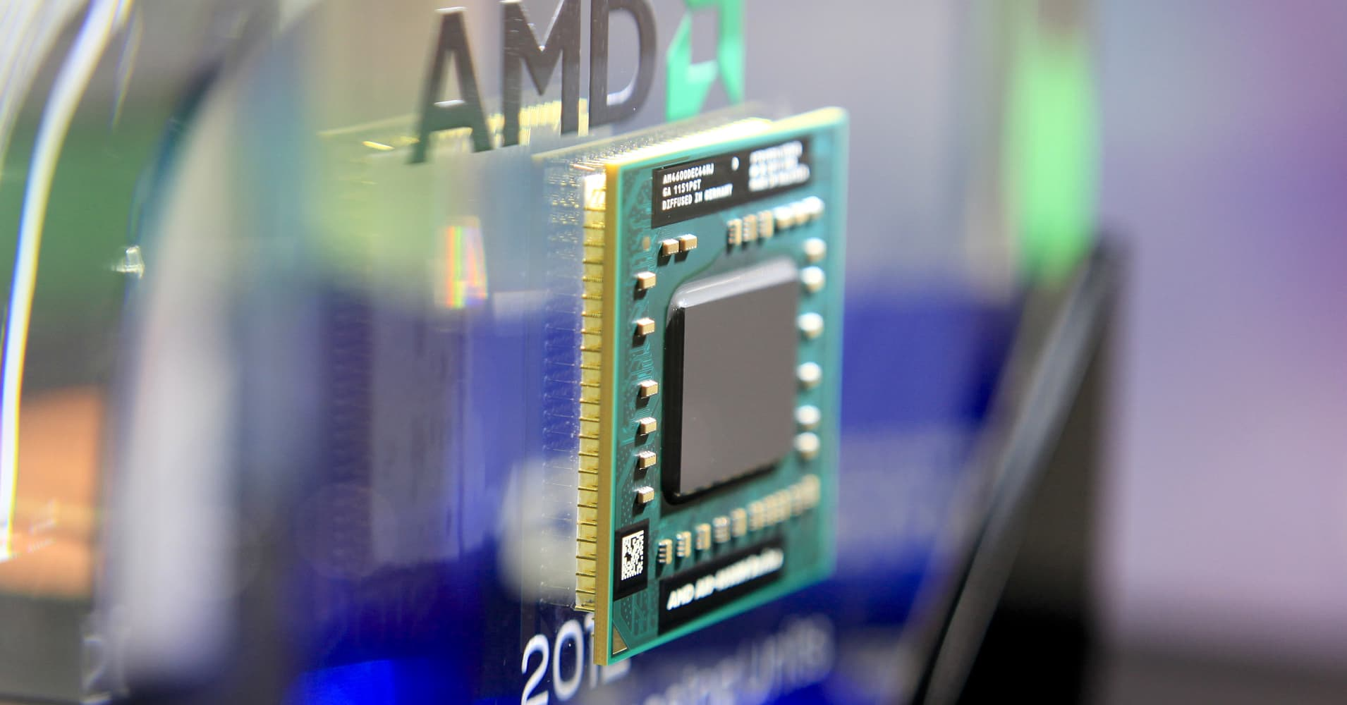 AMD stock drops 3 percent after the company says its chips are affected by security flaw