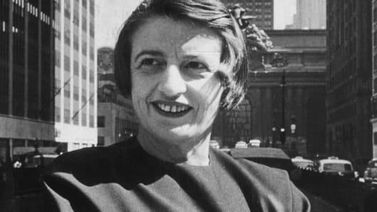 Ayn Rand circa 1957