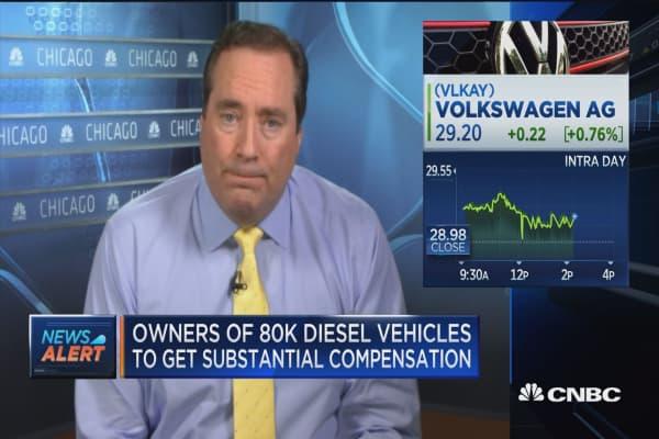 Volkswagen reaches deal over 80K polluting diesel vehicles