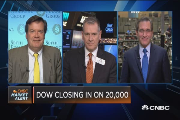 Closing Bell Exchange: Does anything change after Dow 20K?