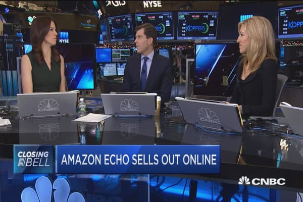 Amazon Echo sells out online