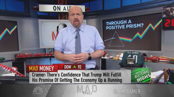 Cramer taps into the theory of history's 'greatest economist' to get ahead in a Trump-trading world