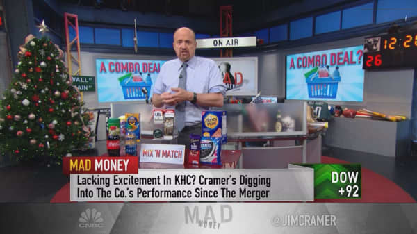 Cramer makes the case for cigarettes and mac & cheese to spark a new wave of M&A