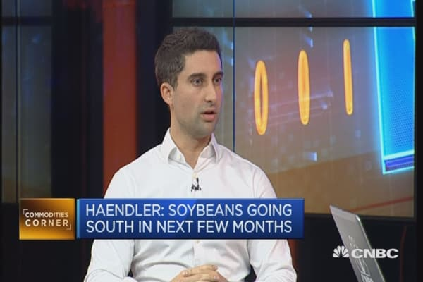 The outlook for soybeans in 2017