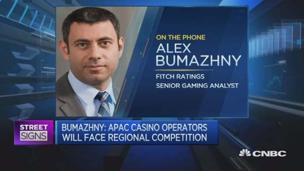 More regional competition for Asia's casinos: Analyst