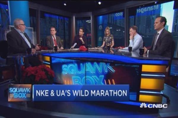 Leisurewear wars: Nike vs. Under Armour