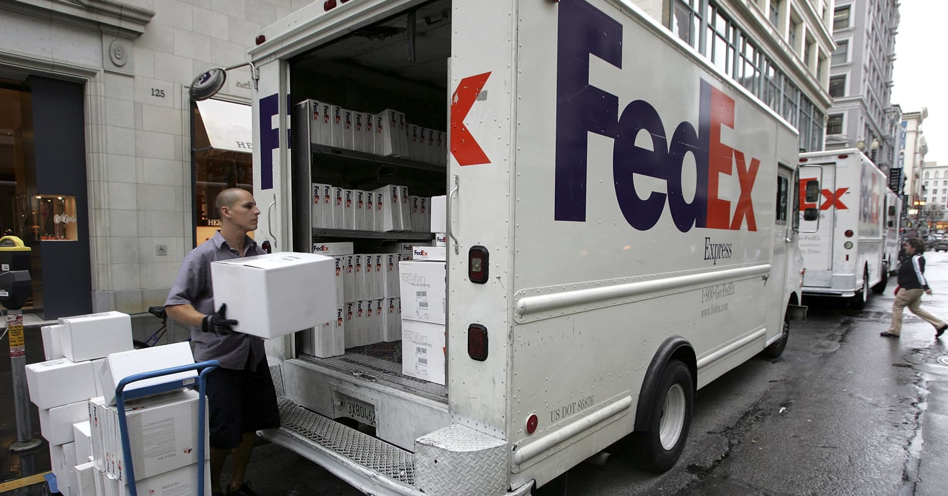 FedEx launches a service to enhance the method of returning packages