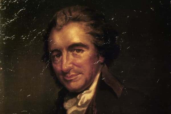 Portrait of Thomas Paine (Thetford, 1737 - New York, 1809)