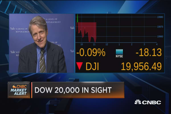 Shiller on Trump and market psychology