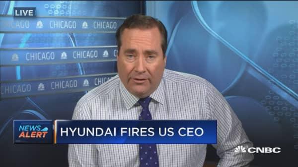 Hyundai fires US CEO