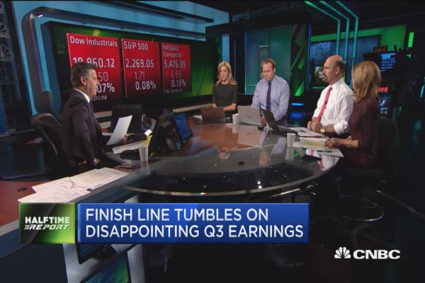 Finish Line tumbles on disappointing Q3 earnings