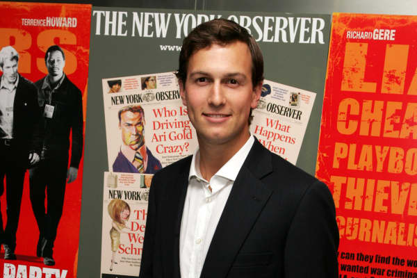 Owner of the New York Observer Jared Kushner attends the New York Premiere of 'The Hunting Party' at the Paris Theater on August 22, 2007 in New York City.