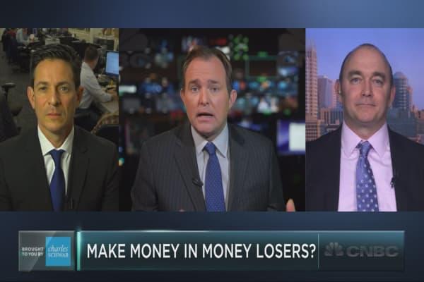 Make money in money-losing companies?