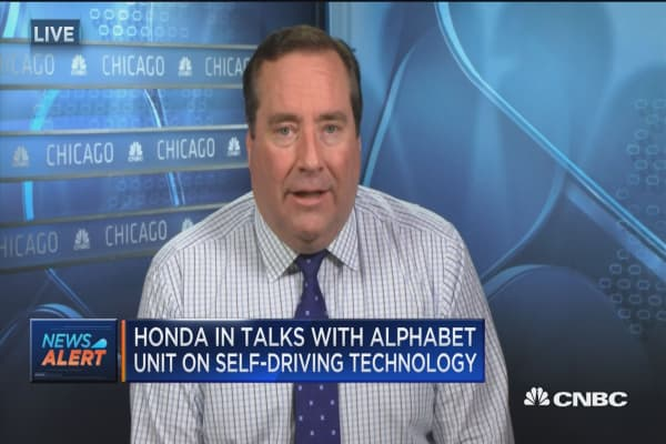 Honda in talks with Alphabet unit on self-driving technology
