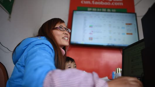 On China's massive Taobao marketplace, sellers can sell anything from cars to farm products.