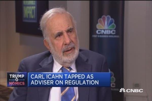Trump taps Carl Icahn as advisor