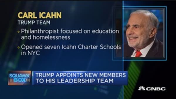 Trump's transition team expands