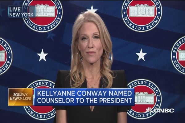 Kellyanne Conway: For me it's about impact and service